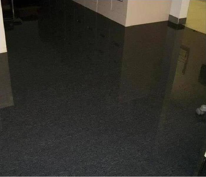 flooding in building