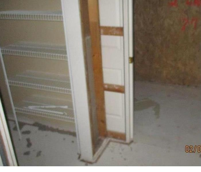 Seattle area home suffered water damage to flooring and walls After