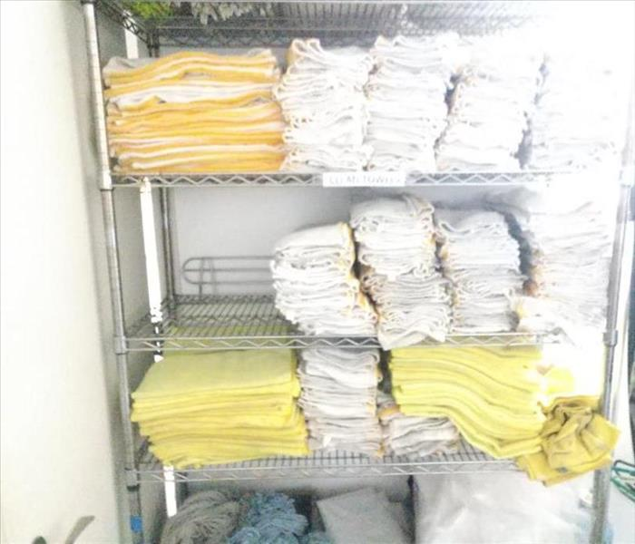 Clean Towels & Rags for Water Loss Mitigation